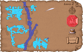 Ice Caverns Map